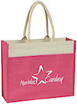 Jute Totes With Front Pocket